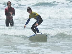 Amerika met tieners - Surfen San Diego