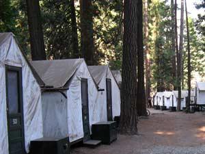 tent yosemite amerika
