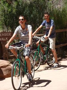fietsen zion amerika