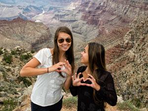 tieners grand canyon amerika