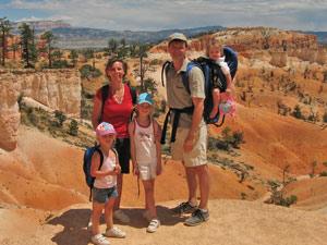 Amerika familie nationaal park