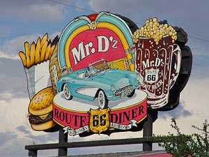 Route 66 met kids - Amerika rondreis