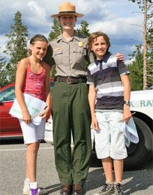 yosemite gezin rangers amerika