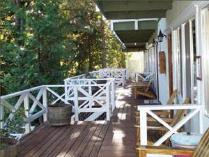 Yosemite gezinsreis - veranda