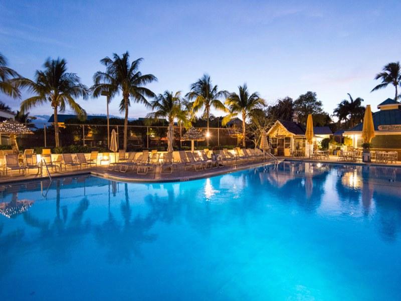 Florida strand - Captiva Island zwembad