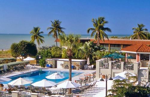 Florida rondreis met kids - Sanibel hotel zwembad