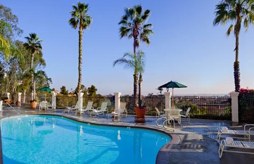 Zwembad Hacienda hotel Amerika