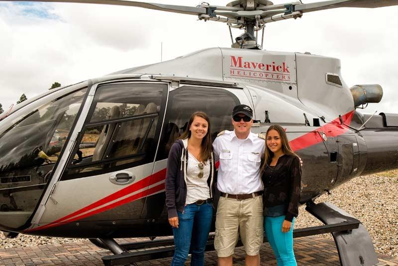 Rondreizen Amerika: helikopter