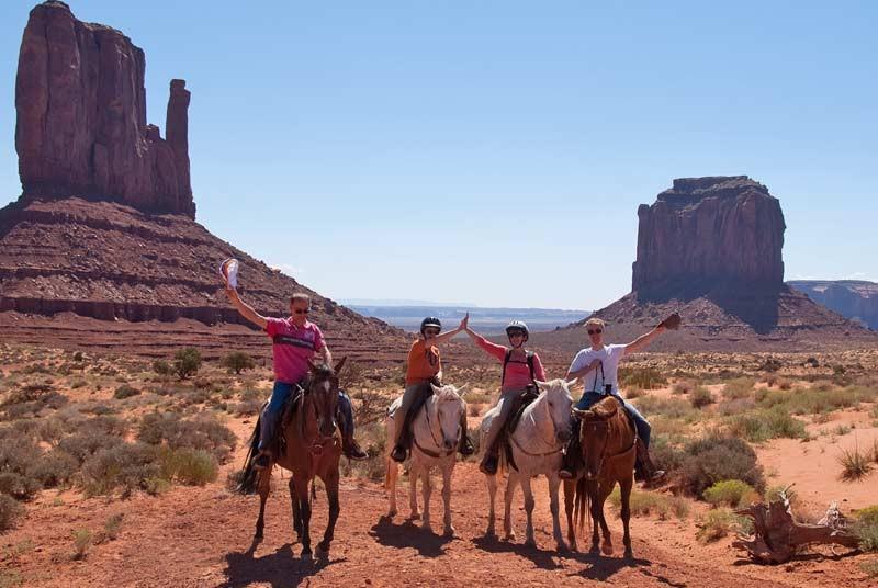 Paardrijden tijdens je Amerika vakantie met kids