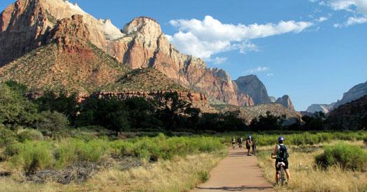 Mountainbiken reizen Amerika