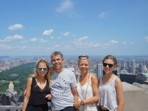 AmerikaKids New York - Top of the rocks