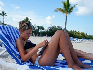 Miami met kinderen - strand