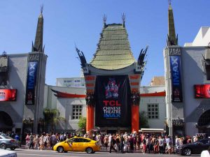 Verenigde Staten familierondreis - Chinees Theater Hollywood Boulevard