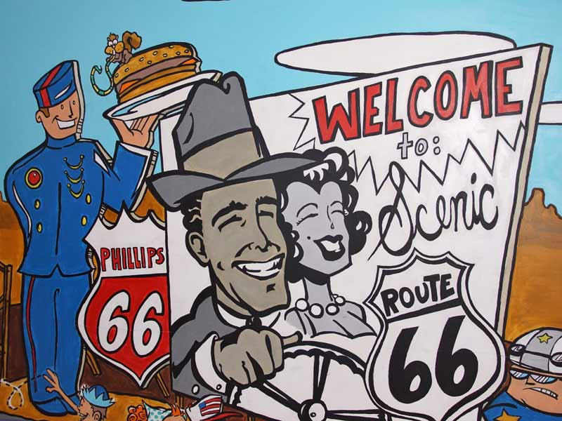 Rondreis west Amerika Kids - Route 66