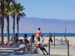 Amerika met tieners - Santa Monica Pier