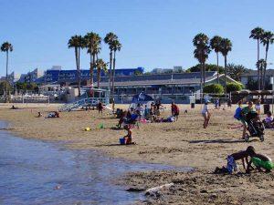 AmerikaKids - strand Marina del Rey