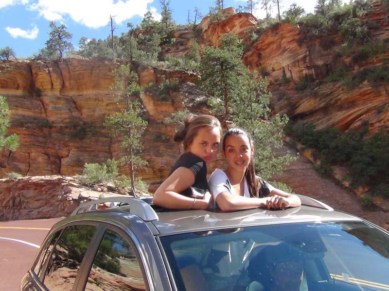 Autorondreis Amerika met kids