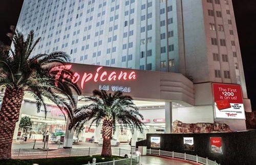 Las Vegas met kinderen - Tropicana Amerika