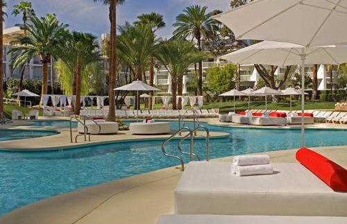 Las Vegas met kinderen - Tropicana zwembad Amerika