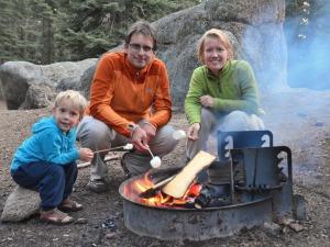 Familiereis Amerika - marshmallows roosteren