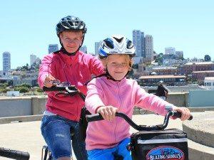Familiereis Amerika - fietsen Sanfran