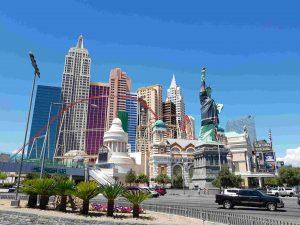 Amerika camperreis-Las Vegas