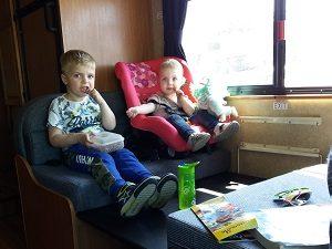 camper Amerika met kinderen
