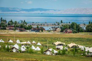 conestoga ranch terrein, bear lake bij riksja travel