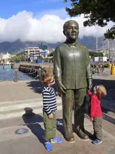 Kaapstad Jeanette kids zuid afrika