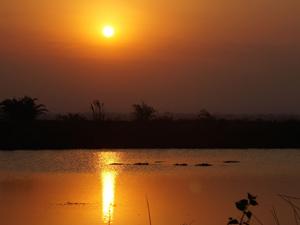 zonsondergang stlucia zuid afrika