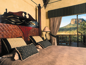 big five bed zuid afrika