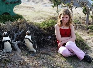 boulders beach Zuid-Afrika met kids