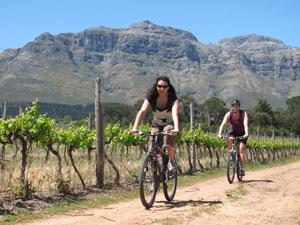 fietsen in Zuid-Afrika met kinderen