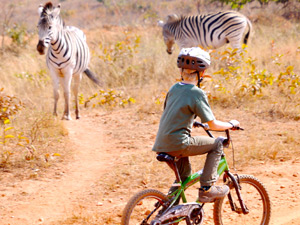 Op de fiets in Swaziland tijdens je Zuid-Afrika familiereis