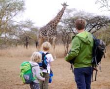 Kids safari op z'n best