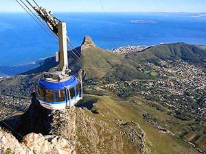 Op de top van de Tafelberg tijdens je Zuid-Afrika gezinsreis