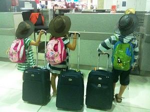 Reistips Zuid-Afrika met kinderen - inchecken