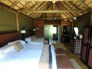 overnachten zuid afrika safari tent