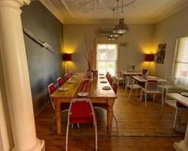 restaurant stadshotel johannesburg zuid afrika