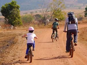 swaziland mlilwane fietsen zuid afrika