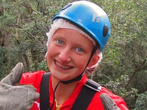 Met je tieners tokkelen in Drakensbergen Zuid-Afrika