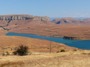 uitzicht golden gate zuidafrika