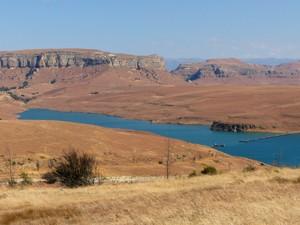 uitzicht golden gate zuid afrika