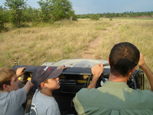 zuid afrika safari kids