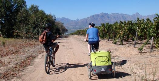 Zuid-Afrika reizen: fietsen