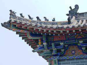 Buddhistischer Tempel von Baima