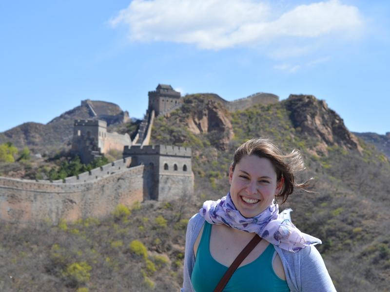 China ohne Visum: peking chinesische mauer