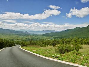 Die Landschaft um Dali