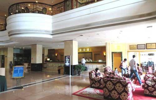 Eingangshalle des Datong Hotels