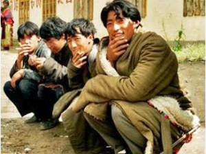 China entdecken: Einheimische in Langmusi